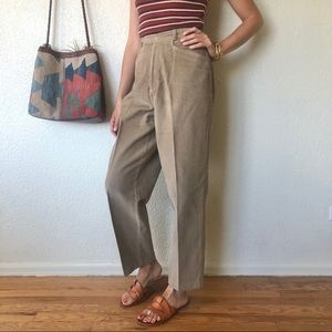 Vintage 80s High Rise Cords